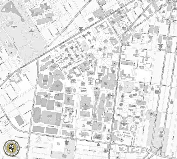 University of Vanderbilt map