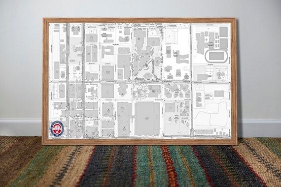 Map University Of Arizona.University Of Arizona Map