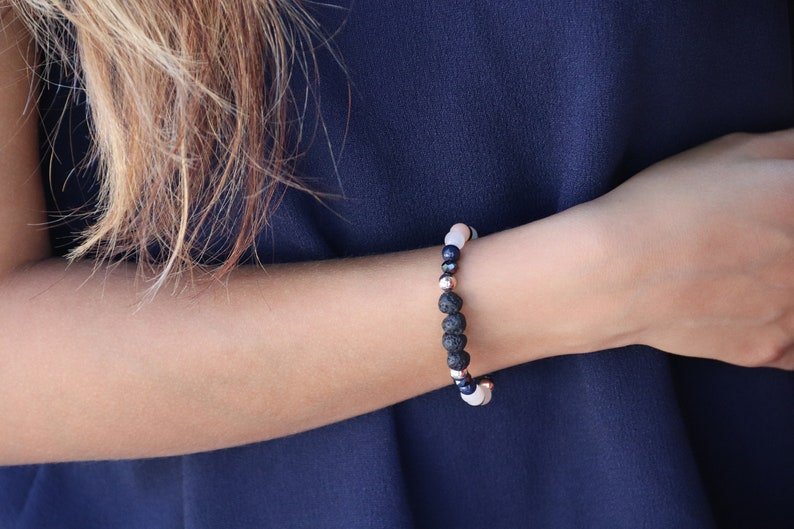 Mixed Lava Stone Bracelet image 0
