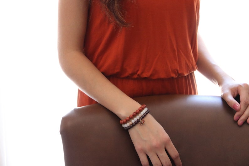 Stackable Stone Bracelets image 0