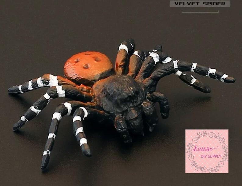 garden accessories Spider miniature garden decoration Spider figurine