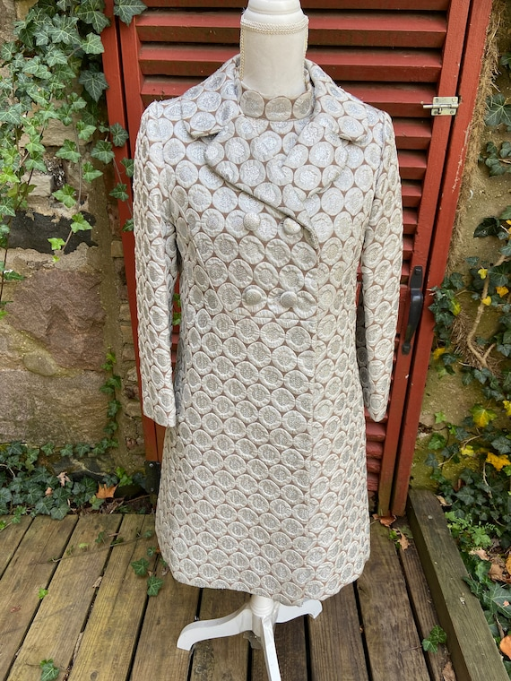Fabulous Vintage Wedding Coat and Dress by Rappi f