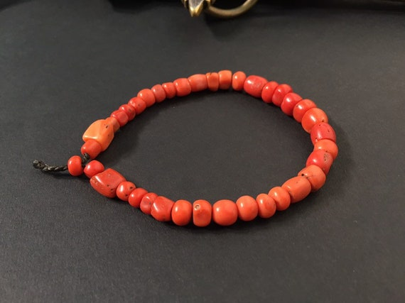 Coral bracelet,Antique coral,Natural coral,berber