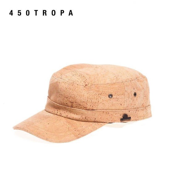 Hat, model troop, natural cork, vegan, made in portugal, eco friendly