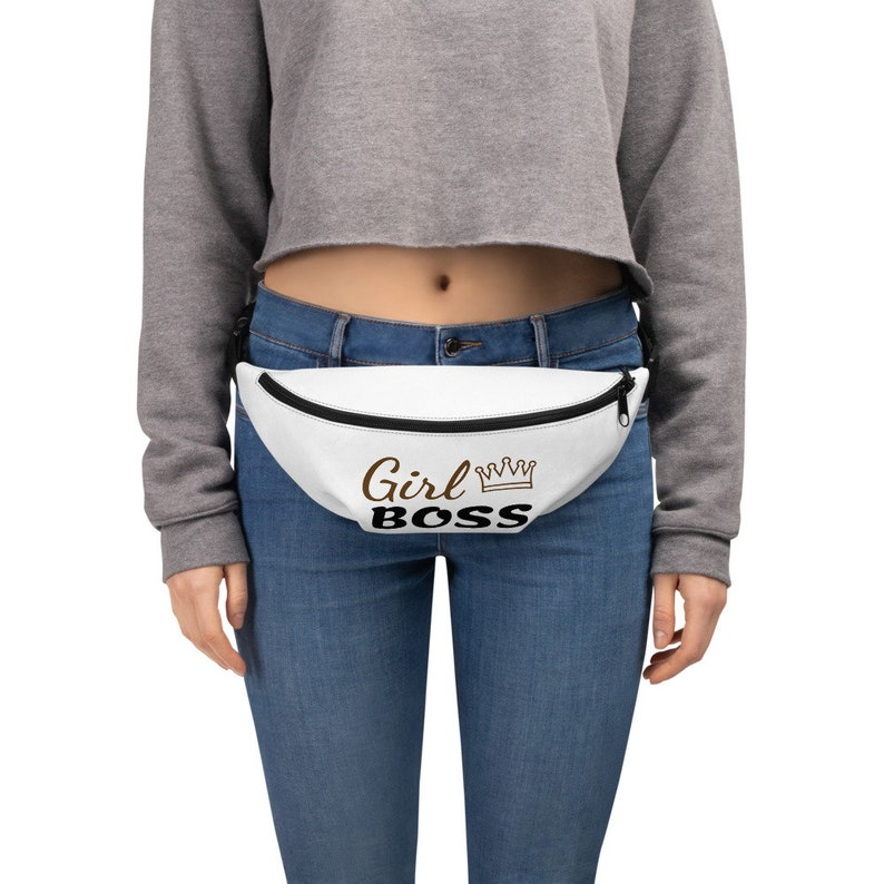 small bags purses clutch fanny pack Girl boss fanny pack