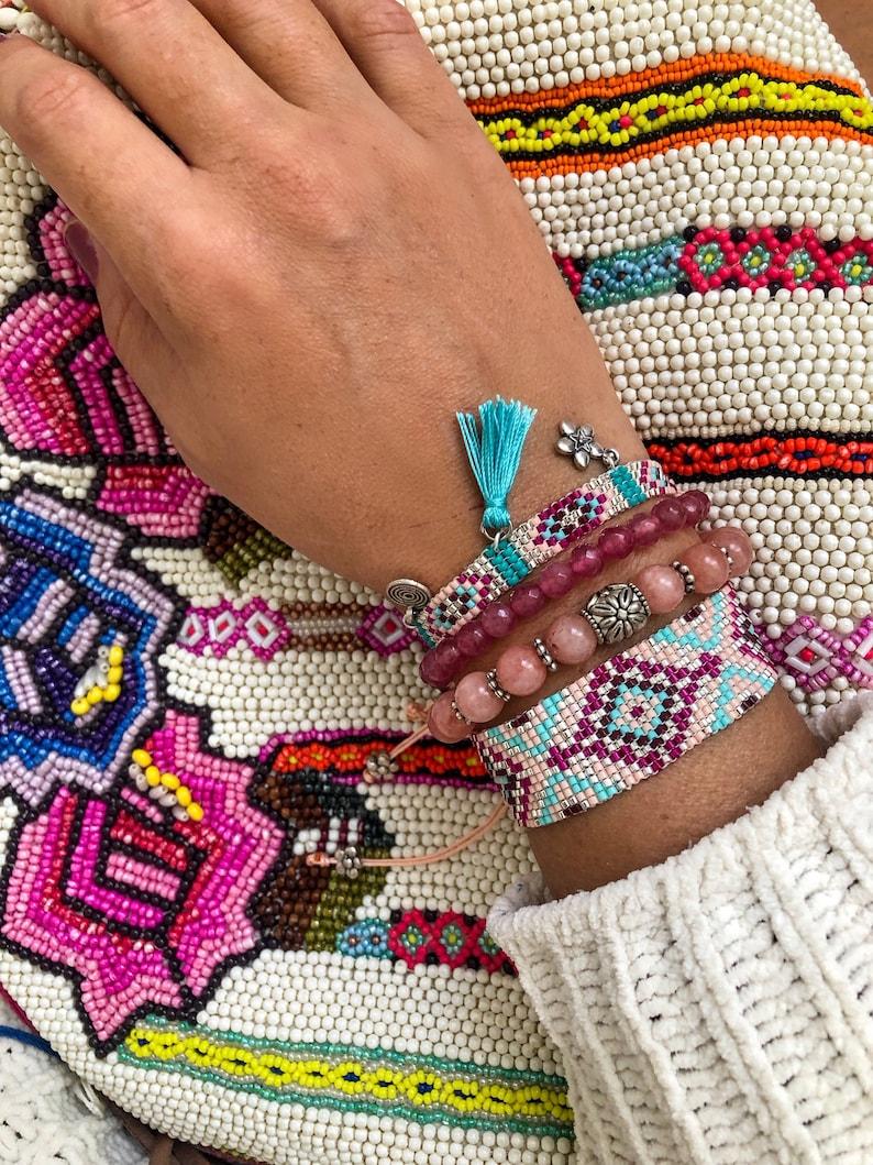 Pastel Dream Miyuki Bracelet Set