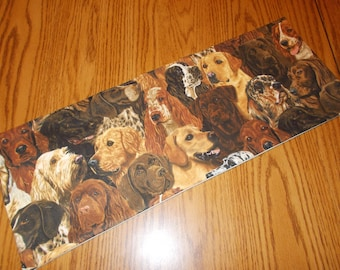 hunting toilet runner lodge print toilet tank topper Rustic deer table topper deer candle mat small quilted table runner