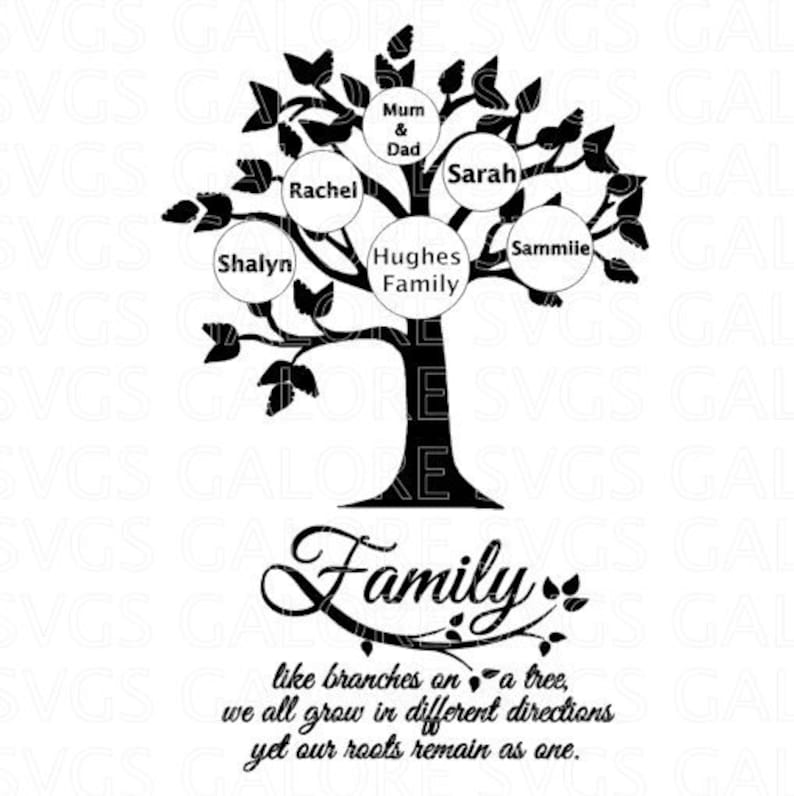 Family Tree Svg Free File CHEAPEST ON ETSY Cheap Love