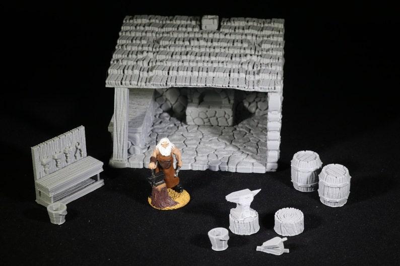 Fat Dragon Games Dungeon Blacksmith Set - Blacksmith Set