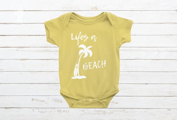 6accb3f2cea5 Life s a Beach Infant Bodysuit