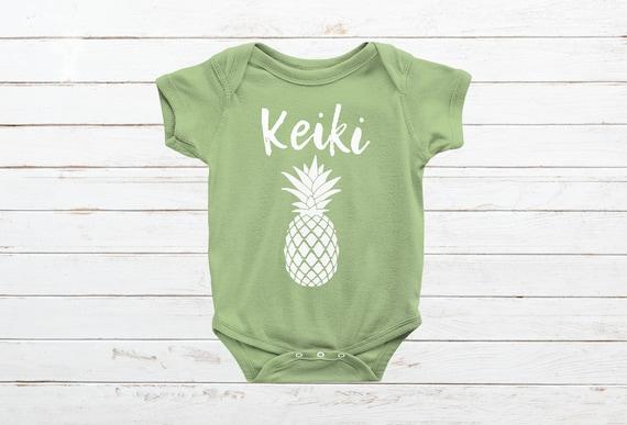 Baby Onesies The Cut Fruit of Pineapple 100/% Cotton Baby Jumpsuit Cute Short Sleeve Bodysuit