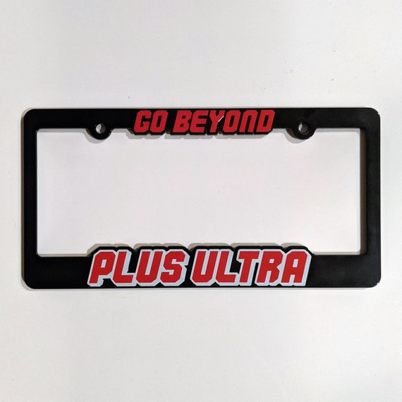 NOT ALL SUPER HEROES WEAR CAPES  funny  License Plate Frame