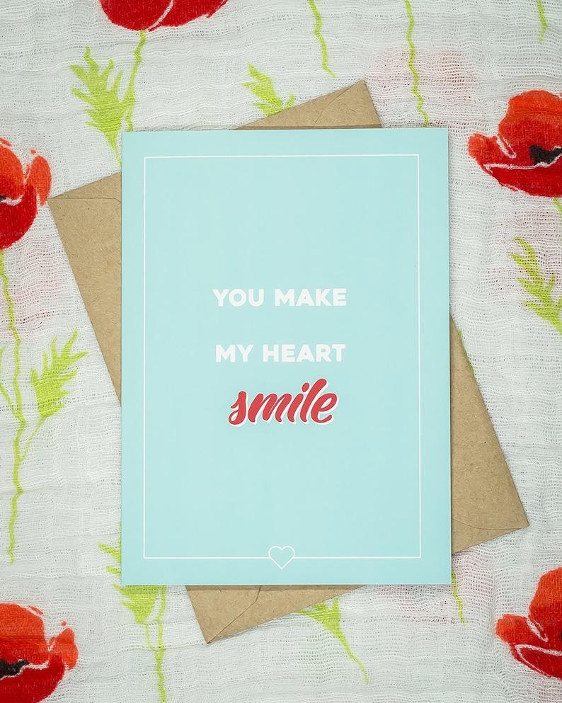 You make my heart smile image 0