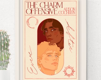 The Charm Offensive Illustration | Alison Cochrun | Book Cover Style