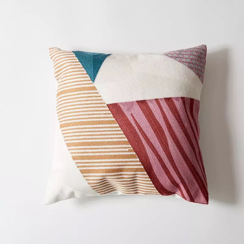 Modern Style Nordic Living 18x18inches Decorative Pillow Minimalist Home Decor Throw Pillow Cover Home Decor