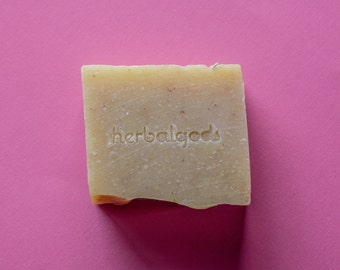 Lavender & Lemongrass (1 Bar) | Handmade | Artisanal Soap | Happy Face