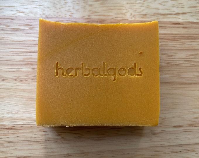 Featured listing image: Turmeric Mint Soap  (1 Bar)