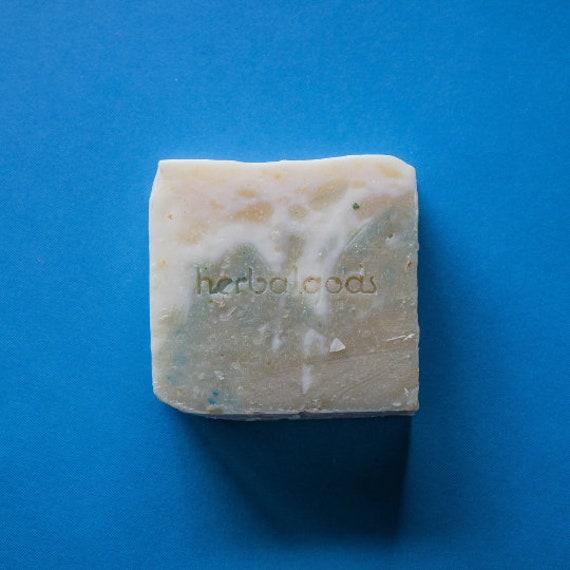 Eucalyptus & Aloe Soap (3 Bars) | Handmade | Artisanal Soap | Happy Face