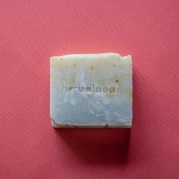 Rosemary Mint (3 Bars) | Handmade | Artisanal Soap | Happy Face