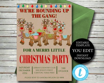 printable invitation etsy