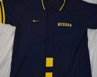 Vintage Nike baseball jersey pullover hip hop RnB style M | Etsy