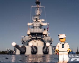 Navy Sailor. Print Size Varies