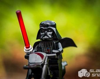 Dirt Bike Vader. Print Size Varies