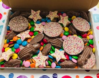 The Chocolate Box - Letter Box Treats - gift, present, teacher thank you, movie nights, cinema, isolation treats, Birthday gift, Christmas