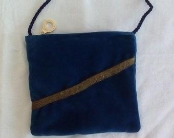 77adca042f7e Handmade Velvet Shoulder Bag for women