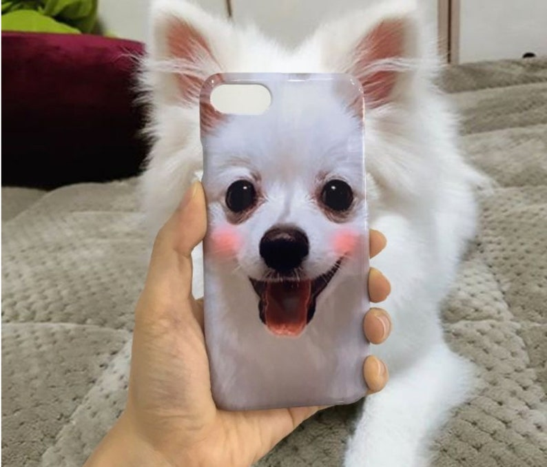 06f6f562 CUSTOMIZED PHONE CASE Custom made with your own pet photo and   Etsy