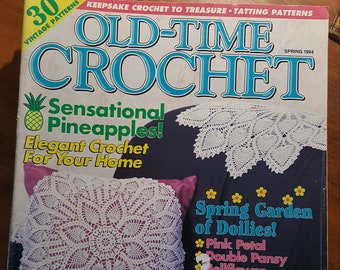Old-Time Crochet Pattern Magazine Vol 20 No 3 Autumn 1998 by House of White Birches