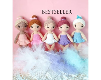 Free Crochet Patterns and Designs by LisaAuch: Easy Crochet Doll ...   270x340