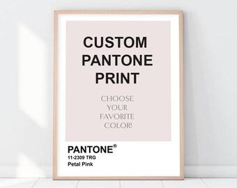 Pantone | Etsy