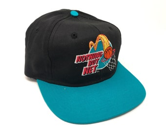 982f99ddafc Vintage Nothing But Net Hat McDonalds 90s Deadstock Snapback Basketball NBA
