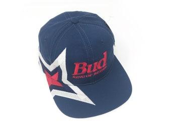 huge discount 9752f 71143 Vintage Budweiser Starter Snapback Hat 1996 Atlanta Olympics Bud King Of  Beers Deadstock