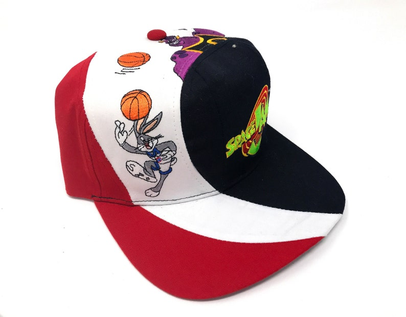 4b3c40a57c991d Vintage Space Jam Hat Monstars Bugs Bunny Looney Tunes