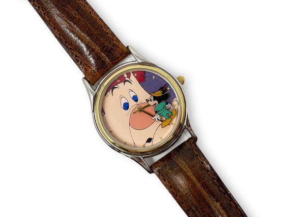 Vintage Mickey Mouse Watch Mickey and the Beanstal