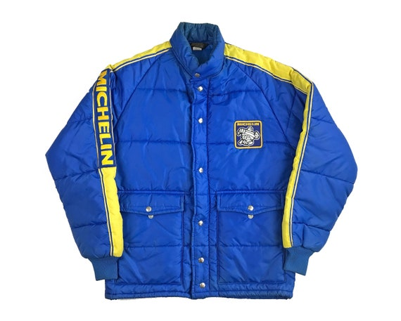 Vintage Michelin Swingster Jacket Quilted Lining C