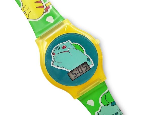 Vintage Pokemon Watch Bulbasaur Digital Wristwatch