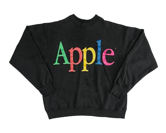 Vintage Apple Crewneck Sweatshirt 90s Macintosh St