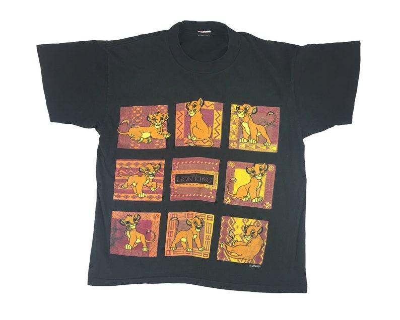 Vintage Lion King Shirt 90s Disney Movie Promo Simba Southwestern Style V1