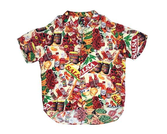 Vintage Jams World Hawaiian Shirt Salsa All Over P