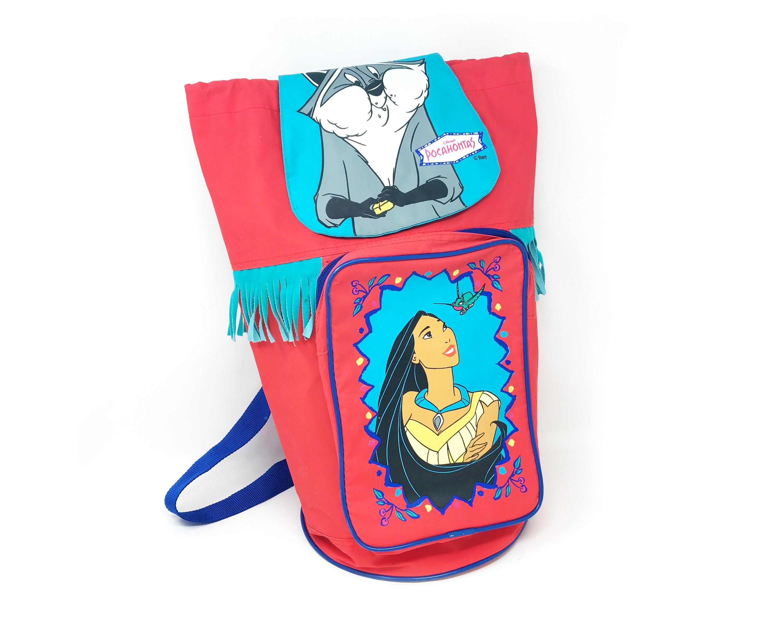 Disney Store Meeko and Flit Pouch 2pc Set Makeup Travel Bag Pocahontas Gift New