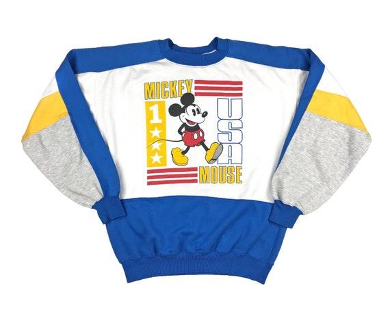 Vintage Mickey Mouse Crewneck Sweatshirt 80s Disne