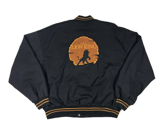 Vintage Lion King Bomber Jacket 90s Walt Disney