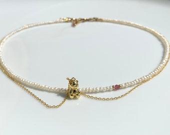 Teddybear Necklace- Sweet Teddy- Baby Teddybear