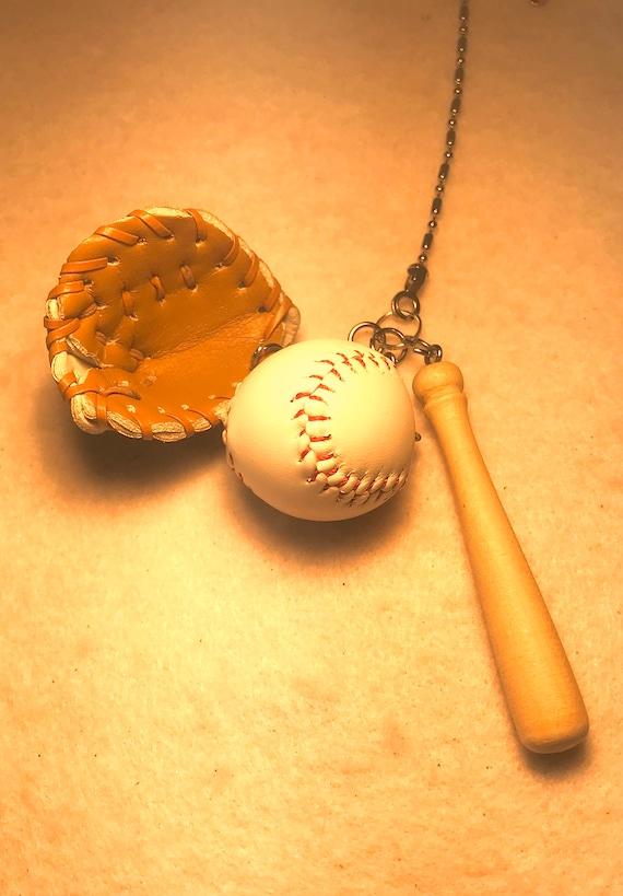 Soccer Ball Baseball Bat Softball Ball Ceiling Fan Pull Etsy