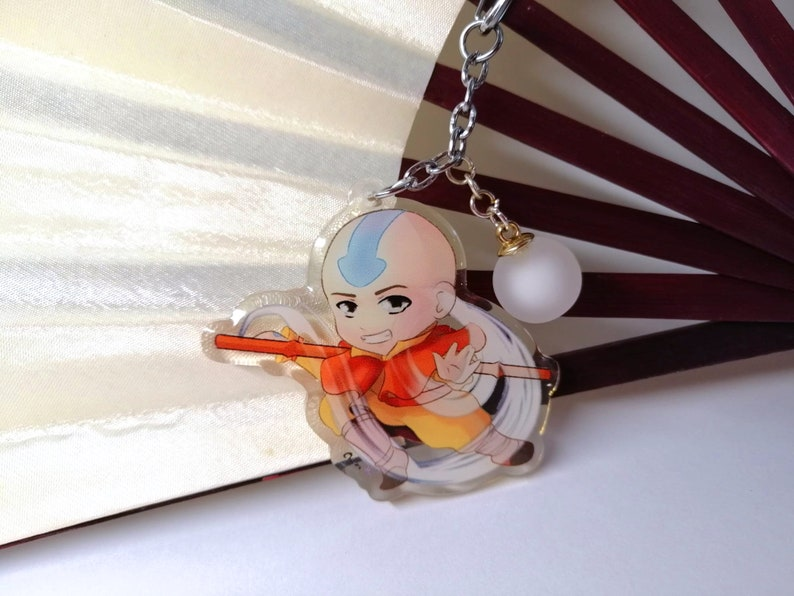 Avatar the legend of Aang charm and wristband