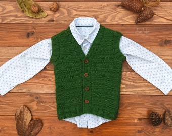 4ccfb68db Boys knitted vest