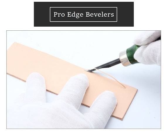 New Kyoshin Elle Leathercraft Leather Beveling Kit Edge Bevellers Sharpener*